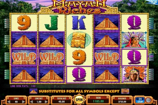 mayan-riches wild
