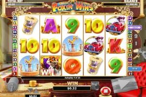 Cherry Casino slots - foxin wins