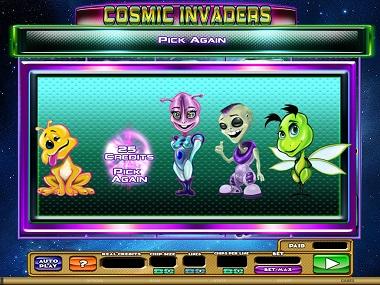 Cosmic-Invaders-pick an alien