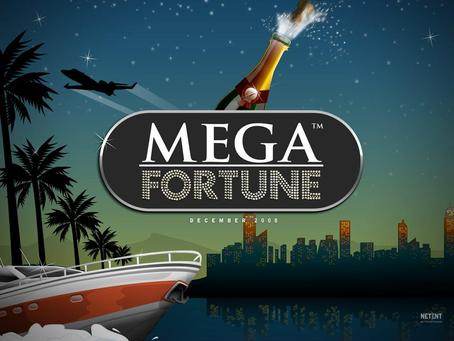 Spill Mega Fortune på Casumo Casino og vinn jackpotten