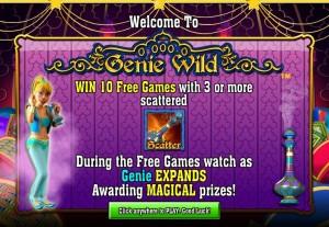 genie wild start