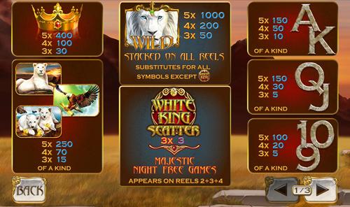white-king-info