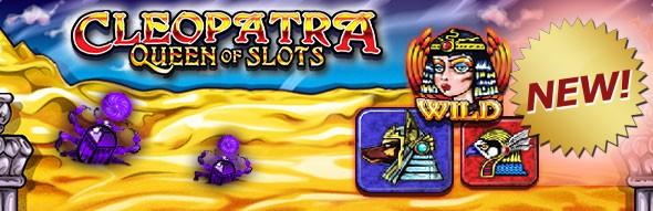 Cleopatra-Queen-of-Slots-logo