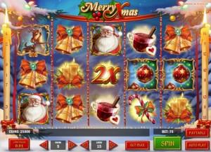 Merry Xmas slots 01