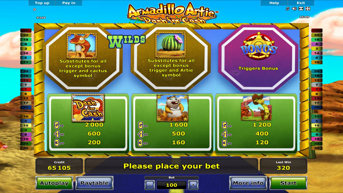 Armadillo-Artie-Dash-For-Cash-info