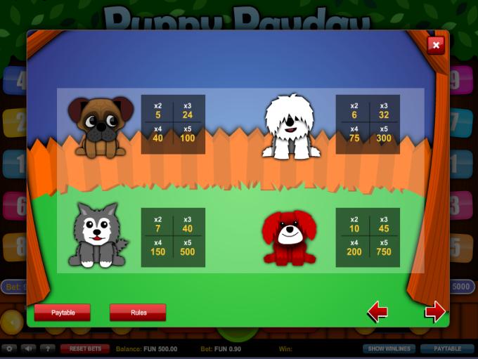 puppy-payday-symboler
