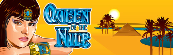 Queen of the Nile 2 slot - egyptisk spilleautomat