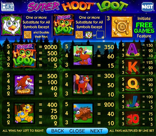 super-hoot-loot-symboler